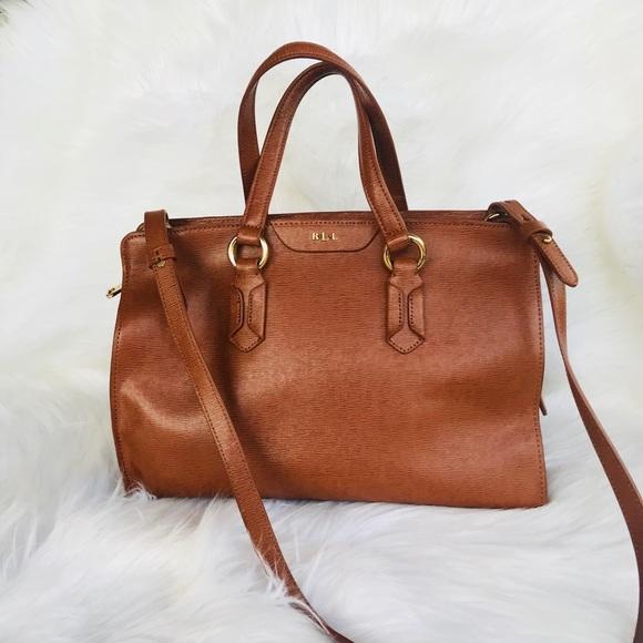 Lauren Ralph Lauren Handbags - Lauren Ralph Lauren Saffiano Leather Handbag 553b18add90dc